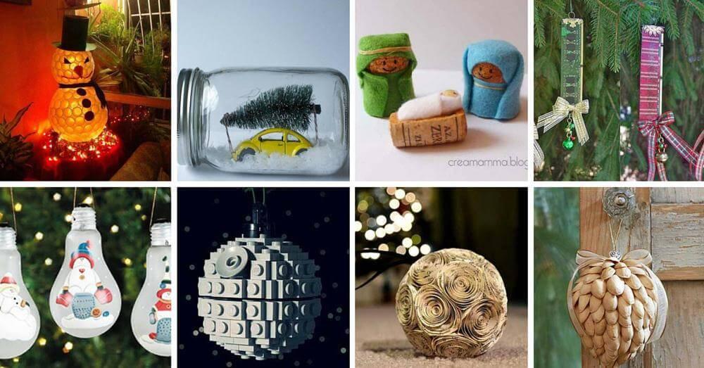 22 adornos navide os reciclando o reusando desechos filasa - Adornos para navidad para hacer en casa ...