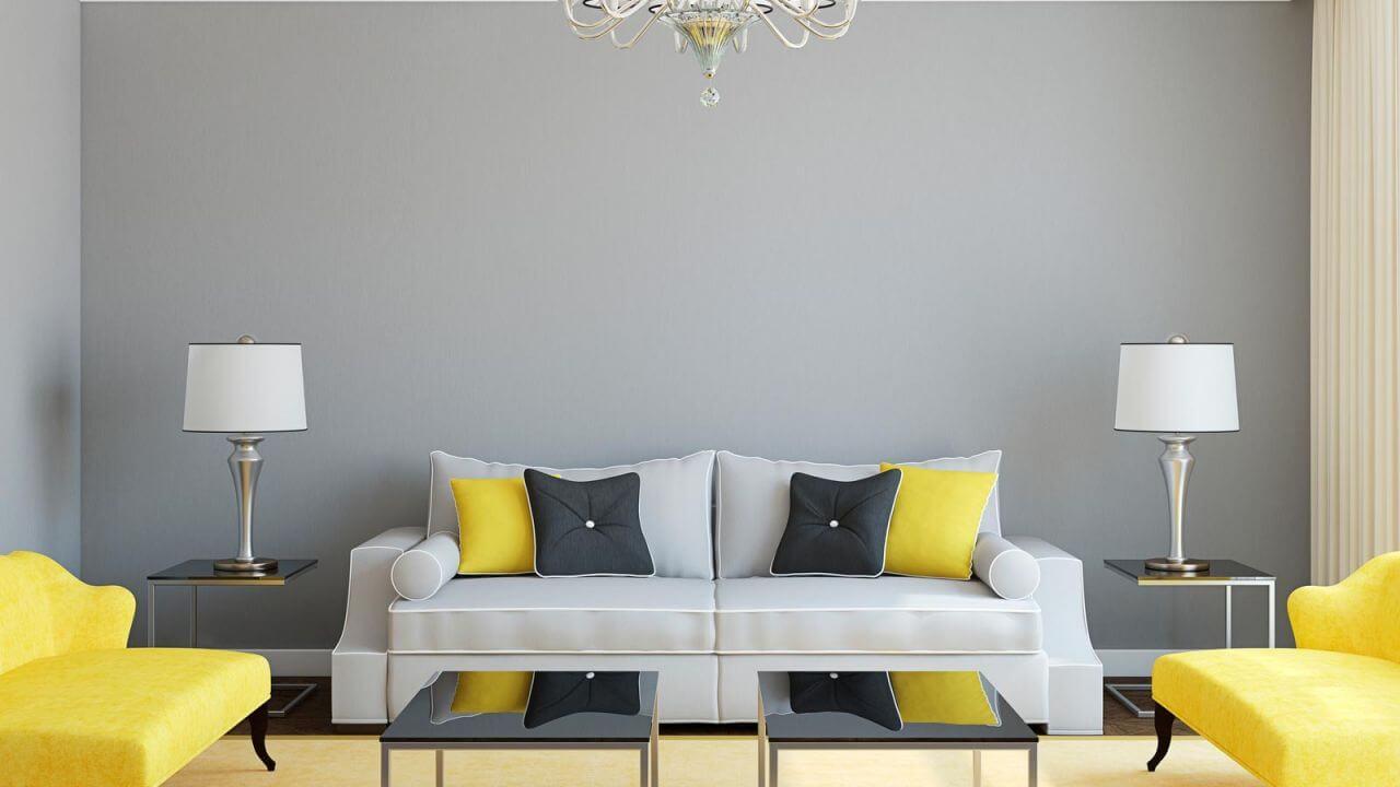 Ideas de decoraci n amarillo filasa - Decoracion salones colores ...